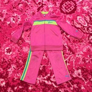 Toddler puma sweatsuit